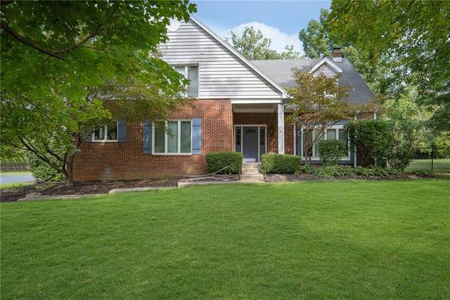 3830 N Sherman Circle, Indianapolis, IN 46226 (MLS #21820343) :: The ORR Home Selling Team