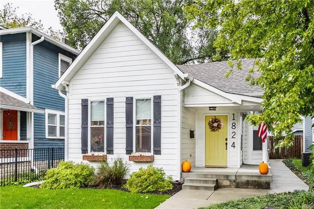 1824 Woodlawn Avenue, Indianapolis, IN 46203 (MLS #21820423) :: The Evelo Team