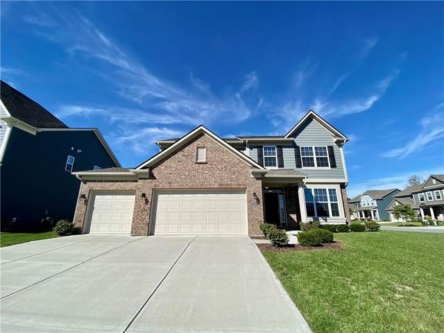 9704 Madera Court, Fortville, IN 46040 (MLS #21820429) :: The Evelo Team