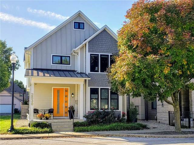 2530 N Delaware Street, Indianapolis, IN 46205 (MLS #21820458) :: The Evelo Team