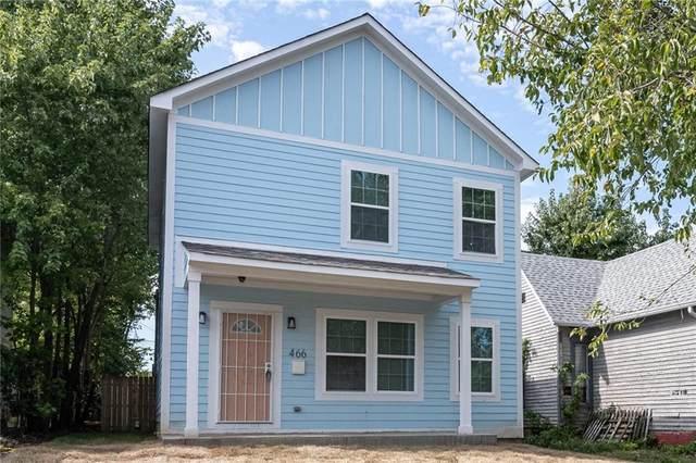 466 N Randolph Street, Indianapolis, IN 46201 (MLS #21820475) :: AR/haus Group Realty