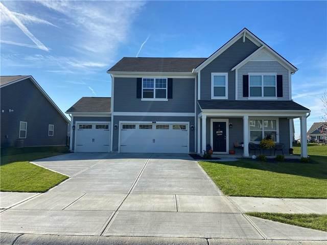 4314 Homestead Drive, Whitestown, IN 46075 (MLS #21820531) :: Dean Wagner Realtors