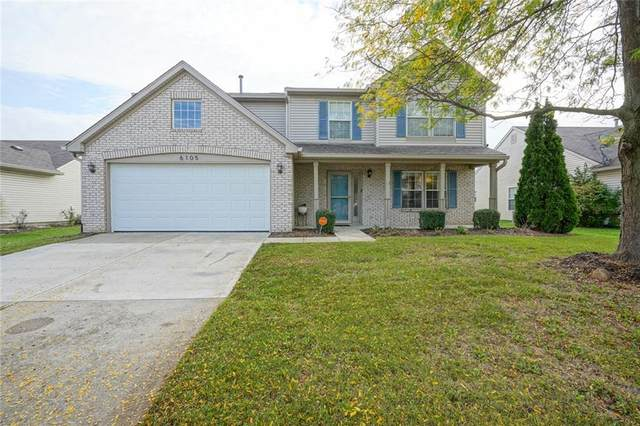 6105 Peregrine Boulevard, Indianapolis, IN 46228 (MLS #21820541) :: The Indy Property Source