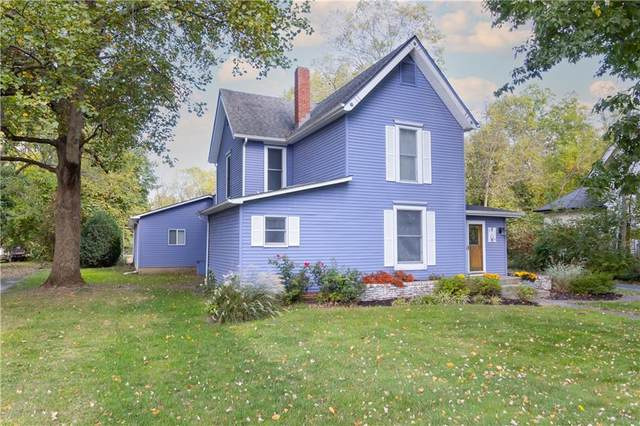 250 W Fifth Street, Greenfield, IN 46140 (MLS #21820556) :: Quorum Realty Group