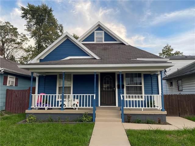 147 Villa Avenue, Indianapolis, IN 46201 (MLS #21820566) :: JM Realty Associates, Inc.