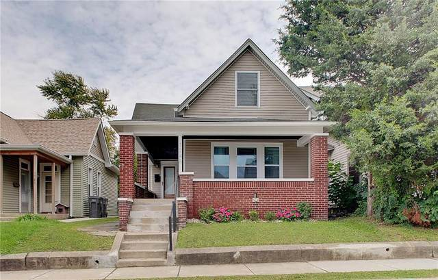 1745 S Union Street, Indianapolis, IN 46225 (MLS #21820609) :: The Indy Property Source