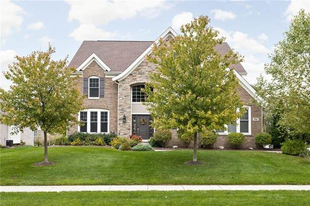 9944 Wading Crane Avenue, Fishers, IN 46055 (MLS #21820682) :: The Evelo Team