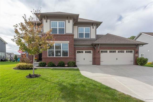 10226 Cloverbank, Fishers, IN 46040 (MLS #21820723) :: The Evelo Team