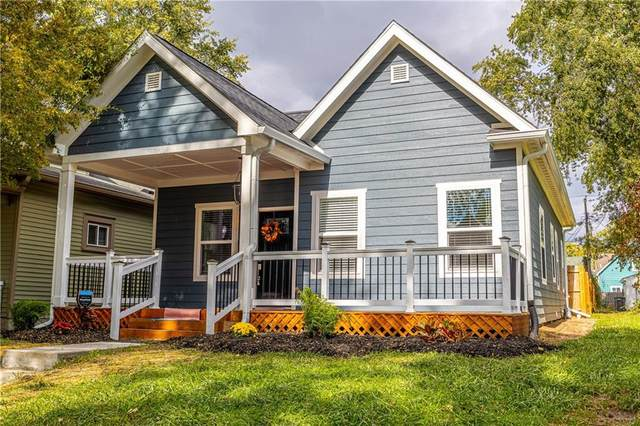 318 Iowa Street, Indianapolis, IN 46225 (MLS #21820757) :: The Indy Property Source