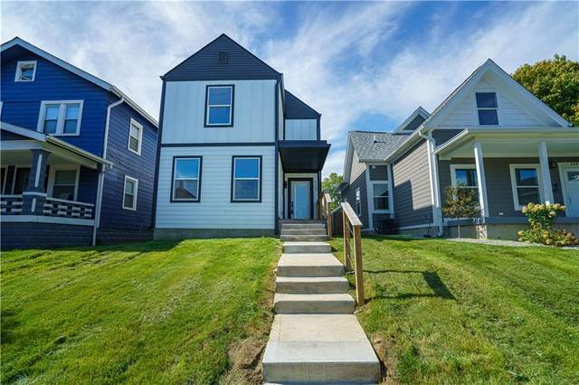 1152 S State Avenue, Indianapolis, IN 46203 (MLS #21820797) :: RE/MAX Legacy