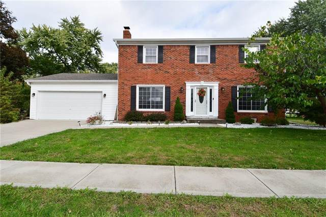 807 Maxine Drive, Brownsburg, IN 46112 (MLS #21820831) :: The Evelo Team