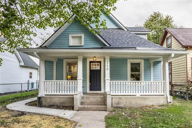 259 Trowbridge Street, Indianapolis, IN 46201 (MLS #21820848) :: The Indy Property Source