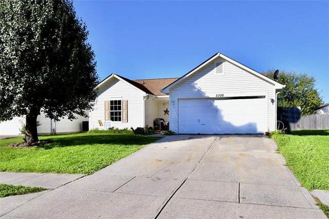 2308 Rolling Oak Drive, Indianapolis, IN 46214 (MLS #21820909) :: The Indy Property Source