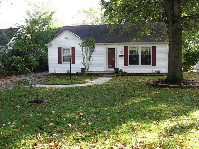 5751 Rosslyn Ave, Indianapolis, IN 46220 (MLS #21821025) :: RE/MAX Legacy