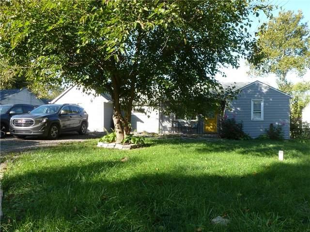 8243 N Sugar Creek Myrtle Lane, Fairland, IN 46126 (MLS #21821179) :: Ferris Property Group