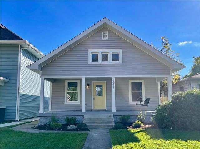 1011 W 34th Street W, Indianapolis, IN 46208 (MLS #21821315) :: The ORR Home Selling Team