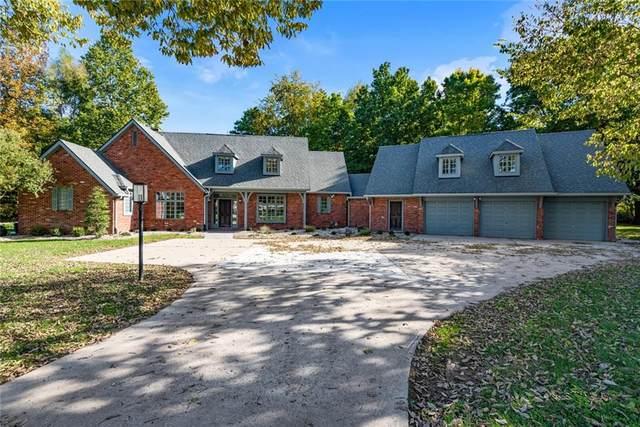 5580 S Shadow Lane, Anderson, IN 46017 (MLS #21821540) :: Heard Real Estate Team   eXp Realty, LLC