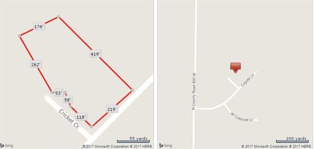 Lot 17 Coyote Lane, Fairland, IN 46126 (MLS #21465022) :: Heard Real Estate Team