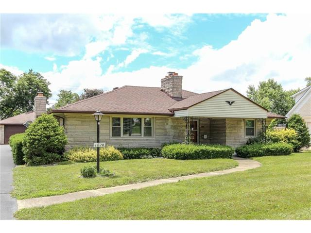1820 Cunningham Road, Speedway, IN 46224 (MLS #21489187) :: Mike Price Realty Team - RE/MAX Centerstone