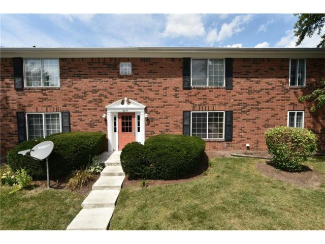 6457 Park Central Drive W, Indianapolis, IN 46260 (MLS #21500369) :: The Evelo Team