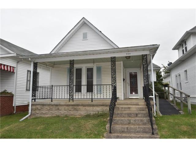 504 Jackson Street, Hope, IN 47246 (MLS #21501527) :: Indy Scene Real Estate Team