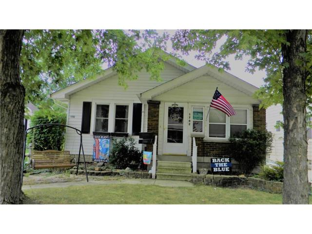 1702 Allison Avenue, Speedway, IN 46224 (MLS #21506953) :: Mike Price Realty Team - RE/MAX Centerstone