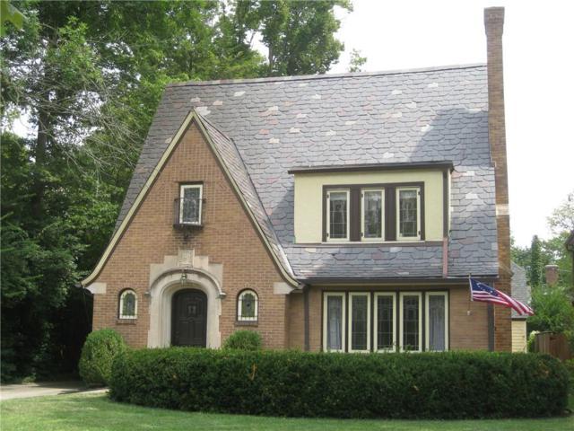 6009 Washington Boulevard, Indianapolis, IN 46220 (MLS #21507947) :: Indy Scene Real Estate Team