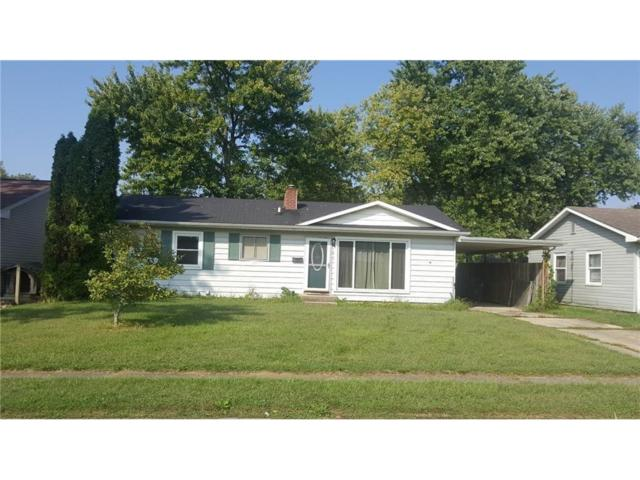 107 Eastman Road, Chesterfield, IN 46017 (MLS #21513790) :: The ORR Home Selling Team