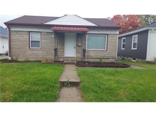 72 S 11 Avenue, Beech Grove, IN 46107 (MLS #21514120) :: Indy Scene Real Estate Team