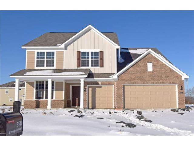 5540 Arrowgrass Court, Noblesville, IN 46062 (MLS #21523256) :: The Evelo Team
