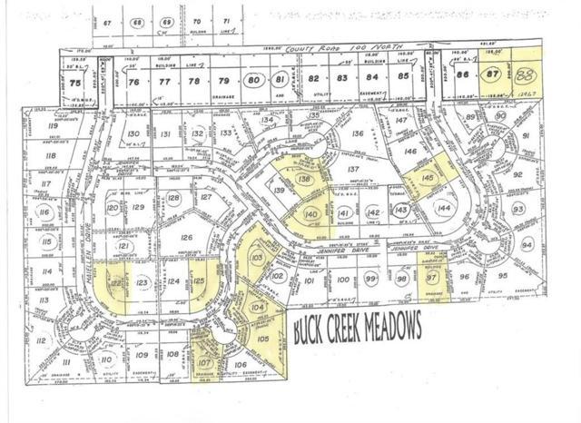 145 Jennifer Drive, Greenfield, IN 46140 (MLS #21528197) :: FC Tucker Company