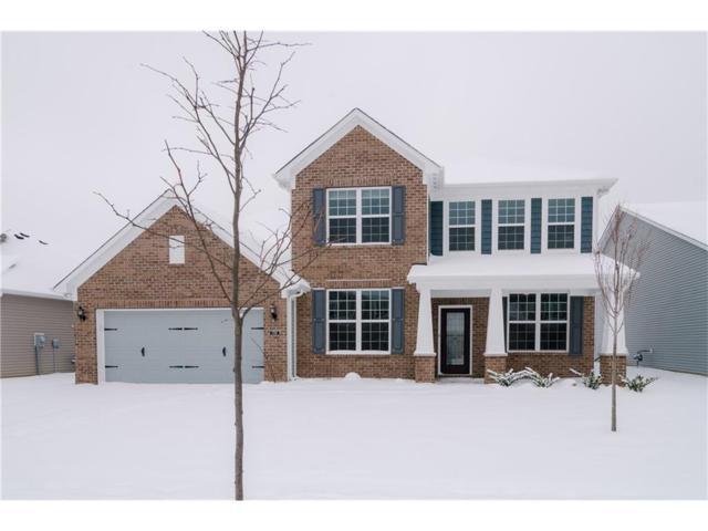 5395 Marigold Drive, Plainfield, IN 46168 (MLS #21540441) :: Heard Real Estate Team
