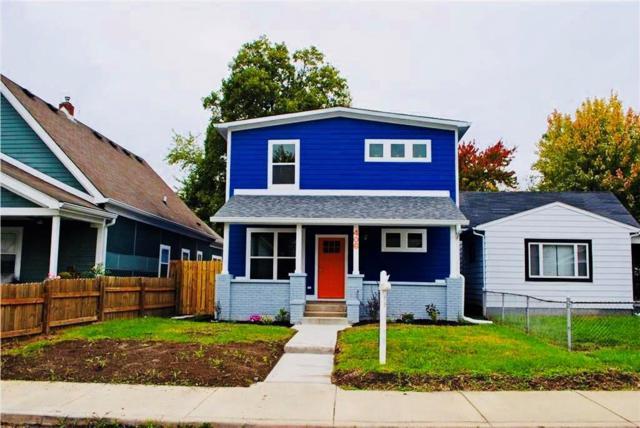 406 Orange Street, Indianapolis, IN 46225 (MLS #21544670) :: Indy Plus Realty Group- Keller Williams