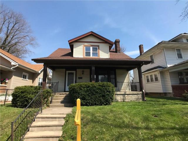 513 N Drexel Avenue, Indianapolis, IN 46201 (MLS #21556892) :: Indy Plus Realty Group- Keller Williams