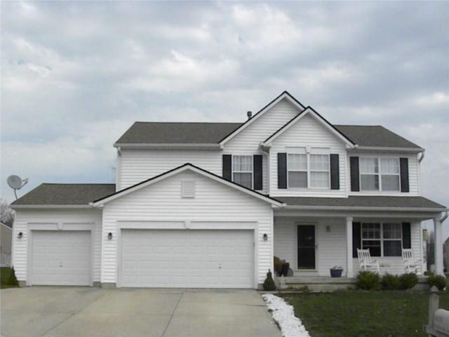 3631 Fieldstone Lane, Plainfield, IN 46168 (MLS #21557818) :: The Evelo Team