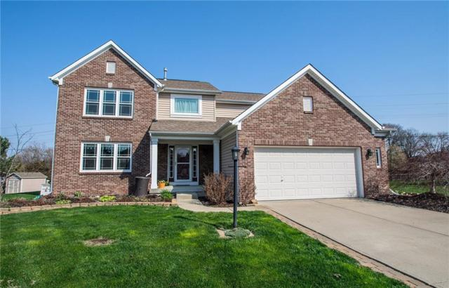 8758 Marisa Drive, Fishers, IN 46038 (MLS #21558564) :: The Evelo Team