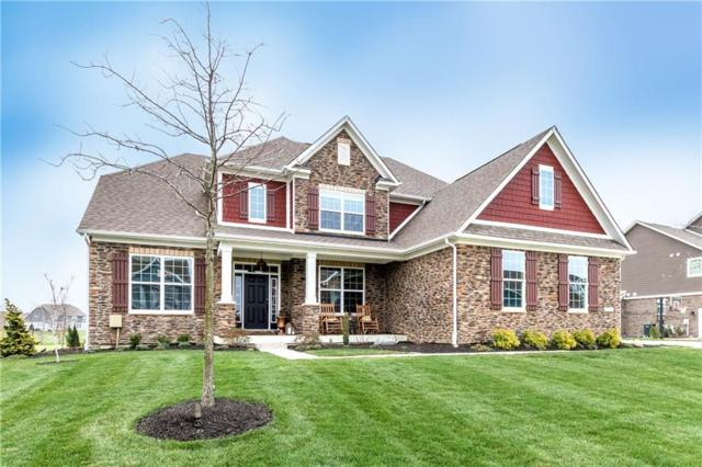 16835 Hawk Creek Circle, Westfield, IN 46074 (MLS #21559633) :: The Indy Property Source