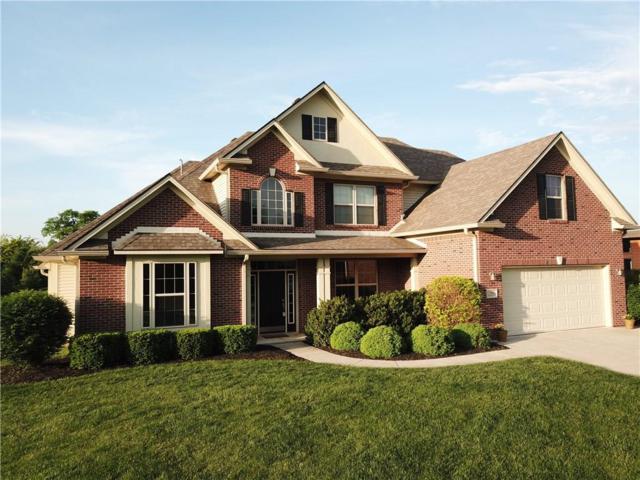 795 E Davis Drive, Franklin, IN 46131 (MLS #21559718) :: The ORR Home Selling Team