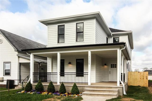 1126 Olive Street, Indianapolis, IN 46203 (MLS #21563740) :: The Evelo Team