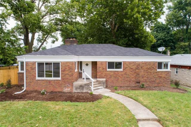 3704 Watson Road, Indianapolis, IN 46205 (MLS #21563801) :: The ORR Home Selling Team