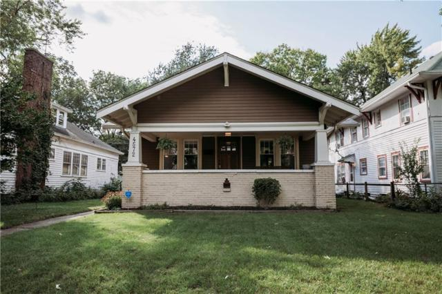 4572 Guilford Avenue, Indianapolis, IN 46205 (MLS #21567292) :: The Evelo Team