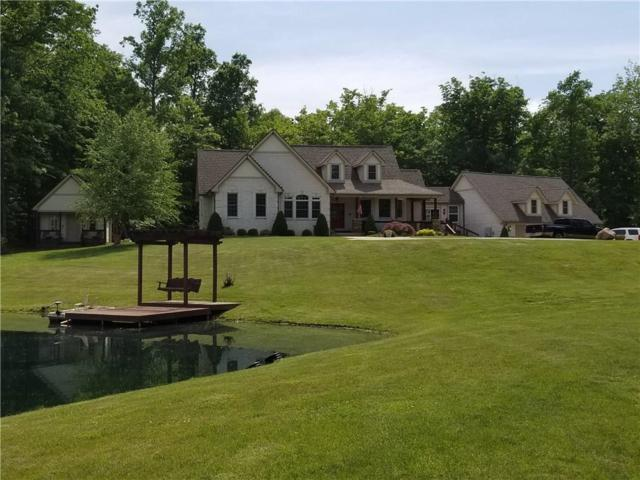 431 N Bull Frog Hollow, Martinsville, IN 46151 (MLS #21567476) :: The Evelo Team