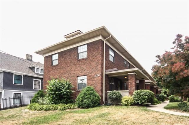 520 Sutherland Avenue C, Indianapolis, IN 46205 (MLS #21568000) :: FC Tucker Company