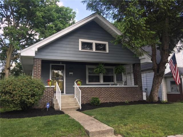 4015 Graceland Avenue, Indianapolis, IN 46208 (MLS #21568121) :: The Evelo Team