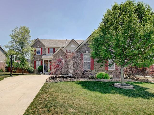 8643 N Commonview Drive, Mccordsville, IN 46055 (MLS #21568358) :: The Evelo Team