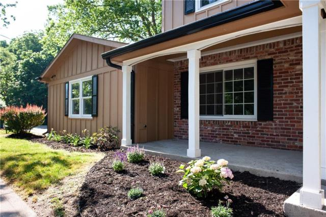 3803 Brunswick Drive, Carmel, IN 46033 (MLS #21570956) :: The ORR Home Selling Team
