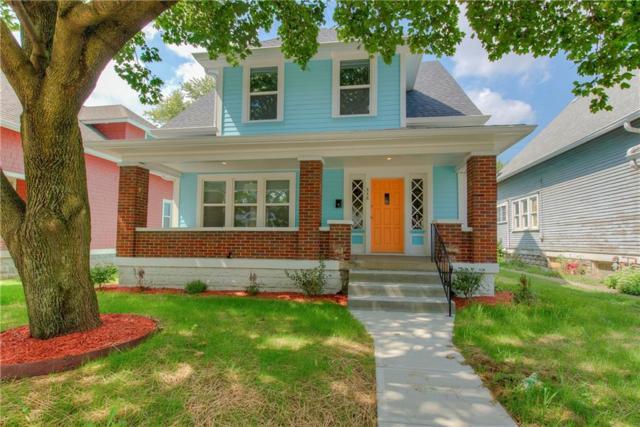 848 N Rural Street, Indianapolis, IN 46201 (MLS #21571795) :: Richwine Elite Group