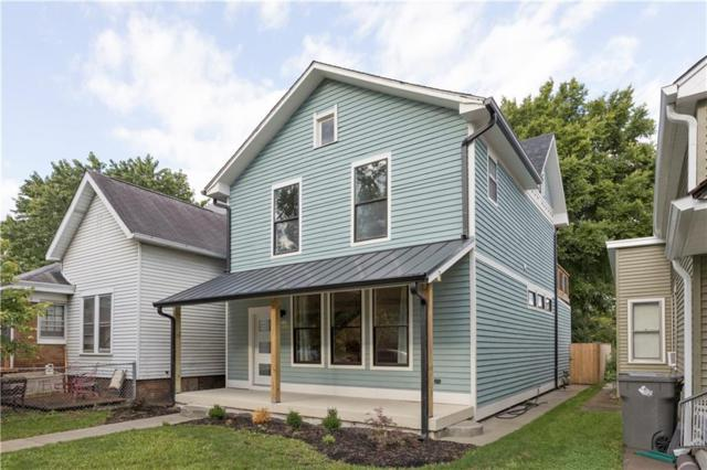 1444 S Alabama Street, Indianapolis, IN 46225 (MLS #21582364) :: Mike Price Realty Team - RE/MAX Centerstone