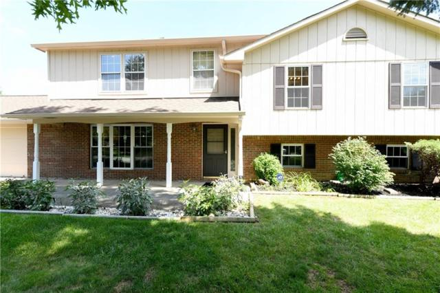8709 Fox Ridge Lane, Indianapolis, IN 46256 (MLS #21588253) :: FC Tucker Company