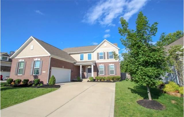 12362 Wolverton Way, Fishers, IN 46037 (MLS #21592312) :: The Evelo Team
